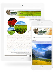 Bighorn Mountain Estates - Website Design by Red Cherry
