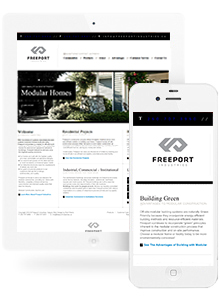 Freeport Industries - Website Design by Red Cherry