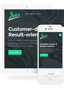 Hutch - Website Design by Red Cherry