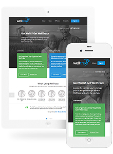 WellTraxx - Website Design by Red Cherry